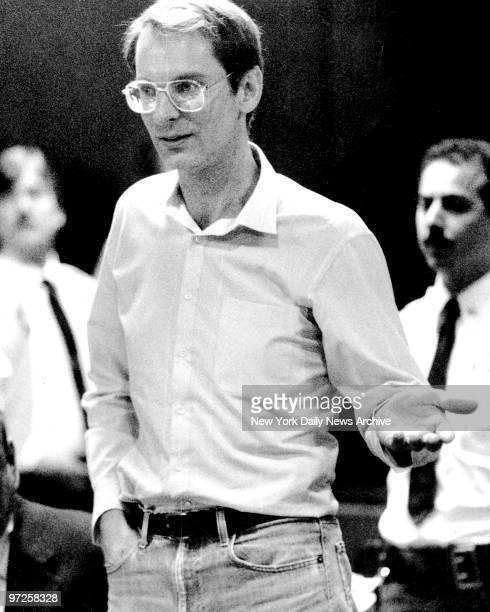 Bernhard Bernie Goetz in court at 111 Center for resentencing