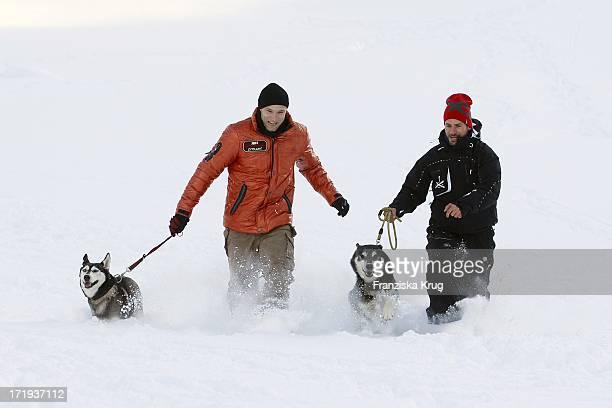 Bernhard Bettermann Und Stephan Luca Beim Tirol Cross Mountain 2011 In Kühtai