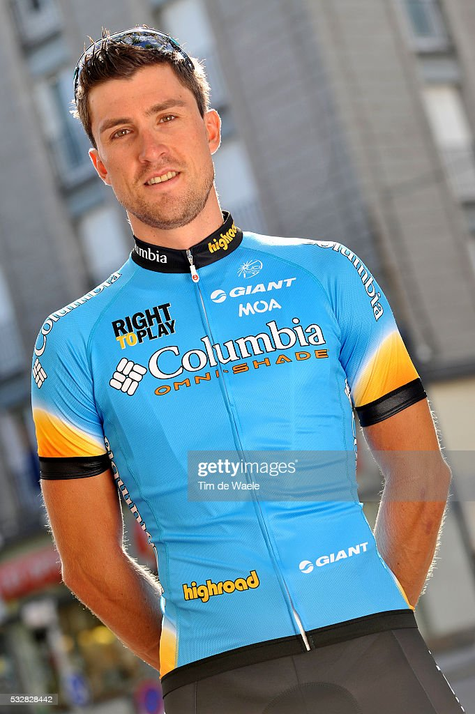 91401229808 Bernhard Eisel of Team Columbia High Road before the 2008 Tour de ...