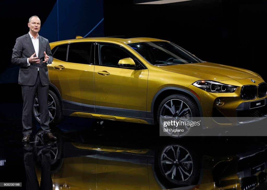 Bernhard Kuhnt, President and CEO of BMW North America, introduces