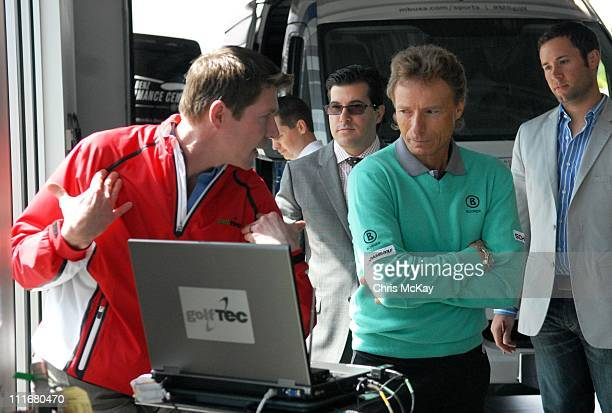 Bernhard Langer appears at MercedesBenz of Augusta on April 5 2011 in Augusta Georgia