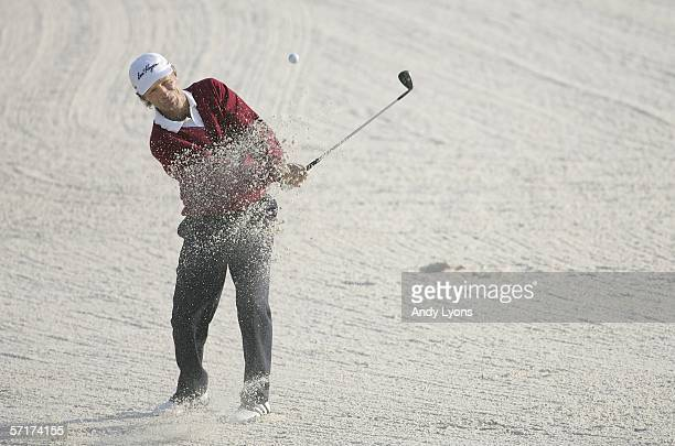 Bernhard Langer of Germany hits his third shot on the par 5 11th hole during the second round of The Players Championship on the Stadium Course at...