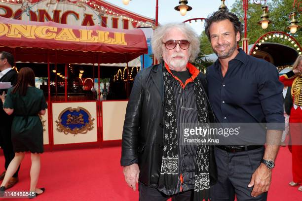 Bernhard Paul and Stephan Luca during Circus Roncalli Gala at Moorweide Park on June 7 2019 in Hamburg Germany
