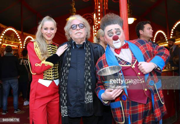Bernhard Paul attends the premiere of the Circus Roncalli show 'Storyteller' on April 12 2018 in Cologne Germany