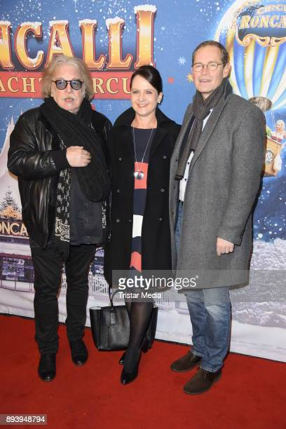 Bernhard Paul Michael Mueller and his wife Claudia Mueller attend the 14th Roncalli Christmas Circus Premiere at Tempodrom on December 16 2017 in...