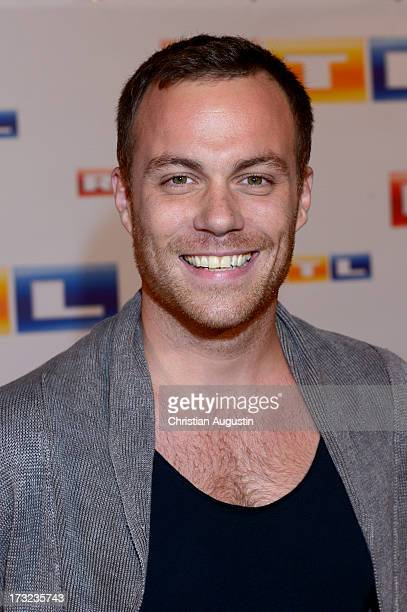 Bernhard Piesk attends photocall of RTL new program presentation at Hotel Atlantic on July 10, 2013 in Hamburg, Germany.