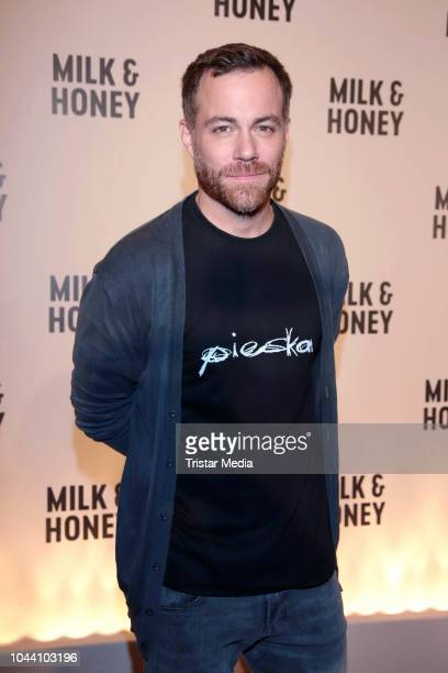 Bernhard Piesk during the photo call for the television series 'Milk & Honey' on October 1, 2018 in Hamburg, Germany.