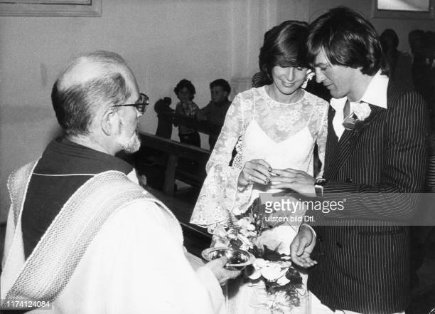 Bernhard Russi und Michèle Rubli heiraten