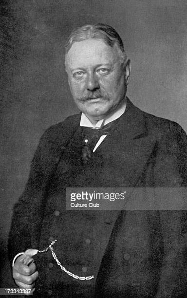 Bernhard von Bülow - portrait. German statesman and Chancellor of the German Empire from 1900 to 1909. 3 May 1849 – 28 October 1929.