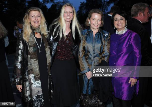 Bernice Balson Allison Balson Anissa Balson and Veranda EditorinChief Lisa Newsom attend the Veranda Preview Gala For The Great House At Historic...