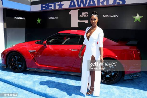 Bernice Burgos attends the 2019 BET Awards at Microsoft Theater on June 23 2019 in Los Angeles California