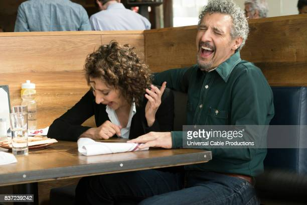 PEOPLE 'Bernie Blythe' Episode 306 Pictured Andrea Martin as Marilyn Kessler John Turturro as Dusty