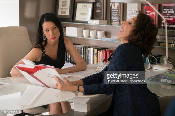 PEOPLE 'Bernie Blythe' Episode 306 Pictured Lucy Liu as Veronica Ford Andrea Martin as Marilyn Kessler