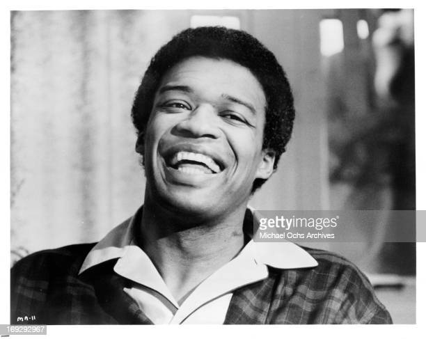 Bernie Casey laughing in a scene from the film 'Maurie' 1973
