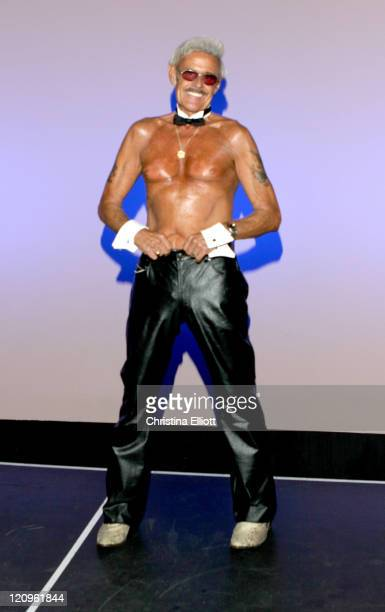 Bernie during Bernie The World's Oldest Male Stripper Performs with the Chippendales at Rio All Suite Hotel in Las Vegas Nevada United States
