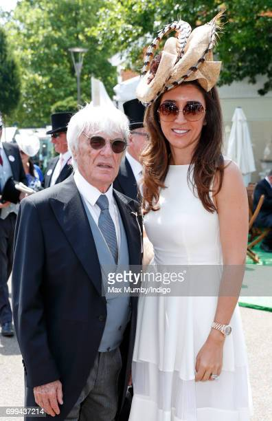 Bernie Ecclestone attends day 2 of Royal Ascot at Ascot Racecourse on June 21, 2017 in Ascot, England.