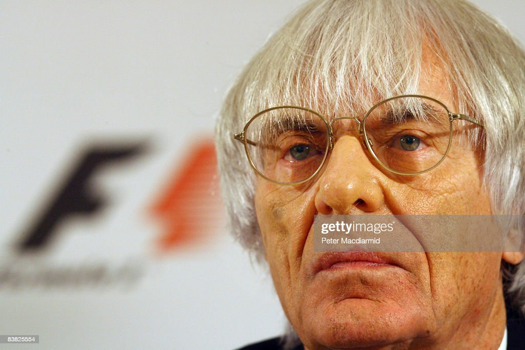 Bernie Ecclestone Chief Executive Officer of the Formula One Group attends an press conference on November 26, 2008 in London. LG Electronics has announced it is to become a Global Partner of Formula 1.
