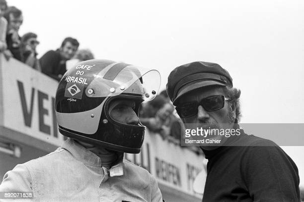 Bernie Ecclestone Emerson Fittipaldi Grand Prix of Germany Nurburgring 30 July 1972