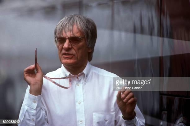 Bernie Ecclestone Grand Prix of Luxembourg Nurburgring Germany 27 September 1998