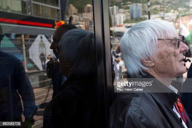 Bernie Ecclestone Grand Prix of Monaco Circuit de Monaco 28 May 2017
