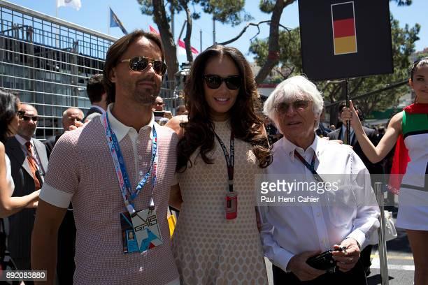 Bernie Ecclestone Jay Rutland Tamara Ecclestone Grand Prix of Monaco Circuit de Monaco 26 May 2013