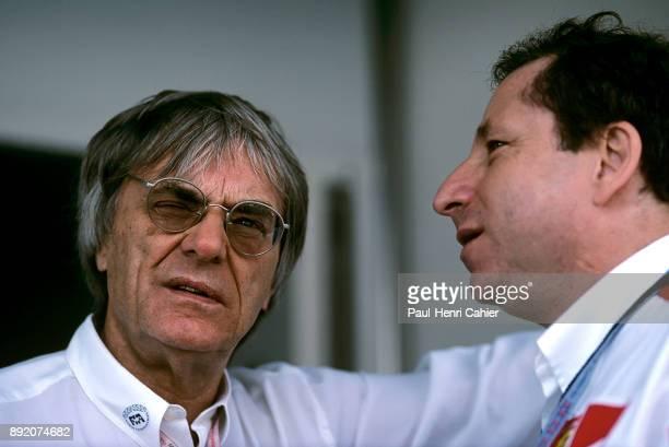 Bernie Ecclestone Jean Todt Grand Prix of Argentina Autodromo Oscar Alfredo Galvez Buenos Aires 13 April 1997