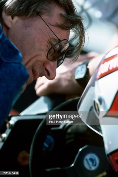 Bernie Ecclestone, Nelson Piquet, Brabham-BMW BT52, Grand Prix of the United States West, Grand Prix of Long Beach, 27 March 1983.