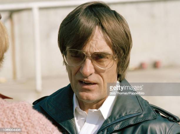Bernie Ecclestone owner of the Brabham team during the British Grand Prix at the Brands Hatch circuit in Fawkham England on July 16 1978