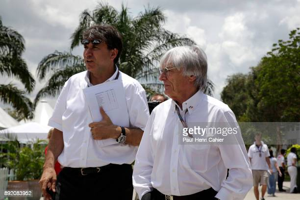 Bernie Ecclestone Pasquale Lattuneddu Grand Prix of Malaysia Sepang International Circuit 05 April 2009