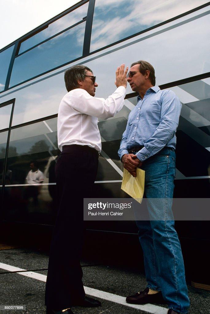 Bernie Ecclestone, Pat McNally, Grand Prix Of Italy : ニュース写真