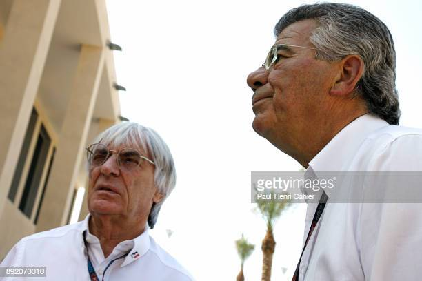 Bernie Ecclestone Philippe Gurdjian Grand Prix of Abu Dhabi Yas Marina Circuit 01 November 2009