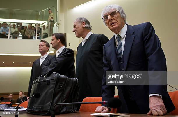 Bernie Ecclestone the 83yearold controlling business magnate in Formula One racing and his lawyers Sven Thomas Norbert Scharf and Andreas Weitzell...
