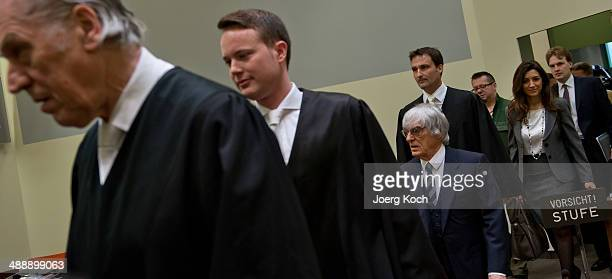 Bernie Ecclestone the 83yearold controlling business magnate in Formula One racing and his lawyers Sven Thomas Andreas Weitzell and Norbert Scharf...