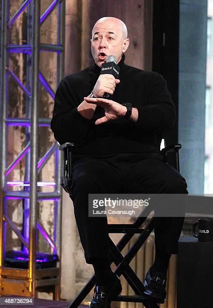 "Bernie Kerik attends AOL BUILD Speaker Series:Former NYC Police Commissioner Bernie Kerik Discusses His Book ""From Jailer to Jailed"" at AOL Studios..."