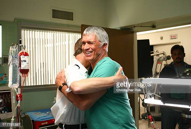 Bernie Kopell and Chad Everett during 2006 TV Land Awards Spoof of Grey's Anatomy at Robert Kennedy Medical Center in Los Angeles California United...