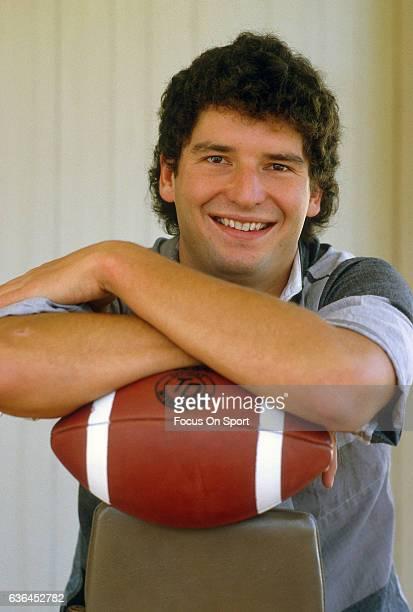 Bernie Kosar of the University of Miami poses for this photo circa 1989 in Miami Florida