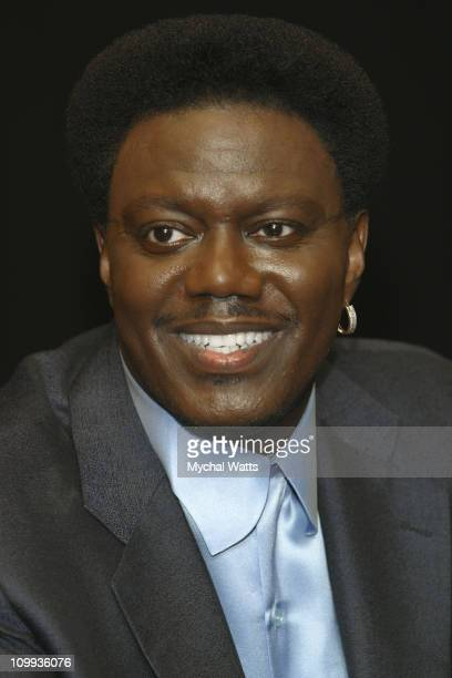 Bernie Mac during Bernie Mac, King of Comedy, Signing Copies of New Memoir May You Never Cry Again at Barnes & Noble, Rockefeller Center in New York...