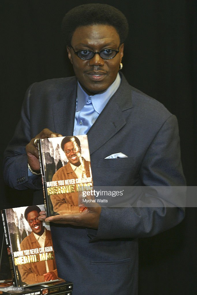 Bernie Mac during Bernie Mac, King of Comedy, Signing Copies of New Memoir May You Never Cry Again at Barnes & Noble, Rockefeller Center in New York City, New York, United States.