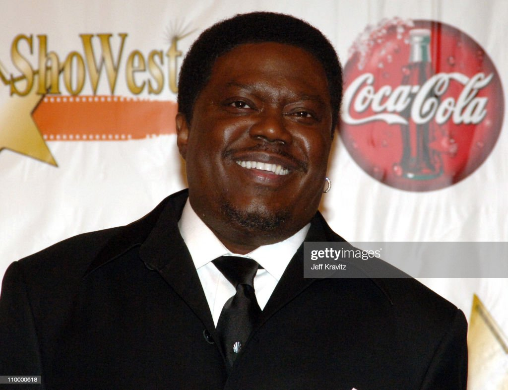 Bernie Mac, winner Comedy Star of the Year Award during ShoWest 2005 Awards Night - Press Room at Paris Hotel in Las Vegas, Nevada, United States.