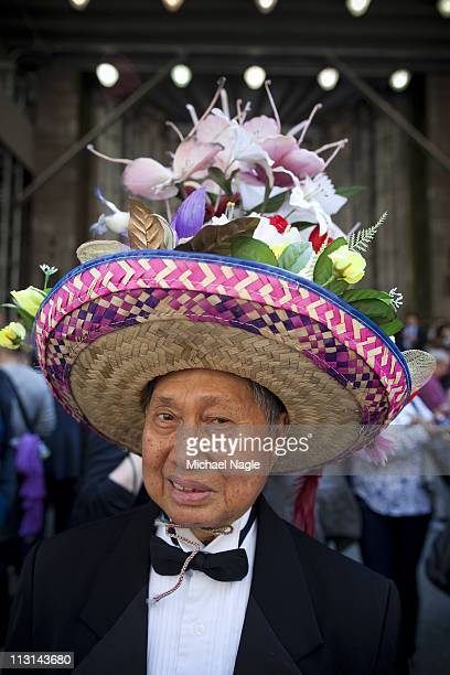 Bernie Nacion takes part in the 2011 Easter Parade and Easter Bonnet Festival on April 24, 2011 in New York City. The parade is a New York tradition...