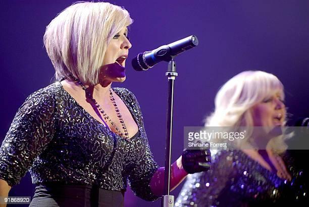 Bernie Nolan and Linda Nolan of The Nolans performs at Apollo on October 13 2009 in Manchester England