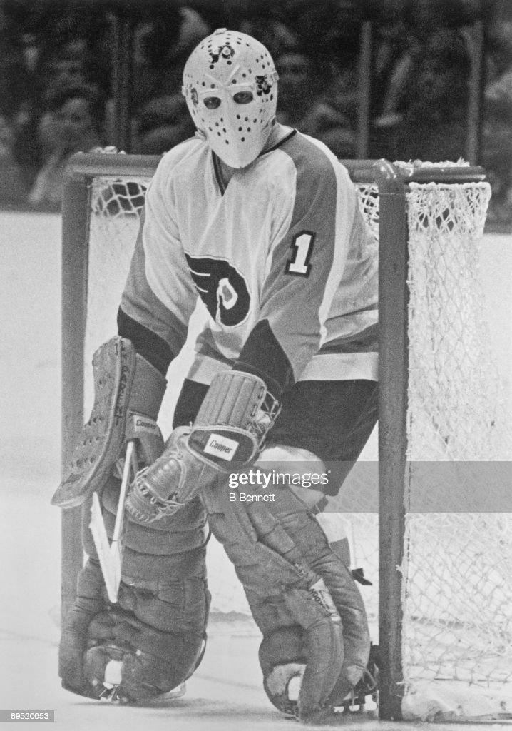 Bernie Parent Philadelphia Flyers : News Photo