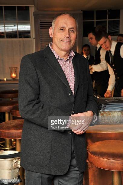 Bernie Shrosbree attends Johnnie Walker Blue Label Alfred Dunhill 'A Journey Shared' Dinner at 34 Grosvenor Square on November 26 2013 in London...