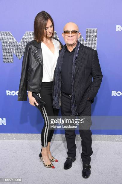 """Bernie Taupin and wife Heather Lynn Hodgins Kidd attend the New York premiere of """"Rocketman"""" at Alice Tully Hall on May 29, 2019 in New York City."""