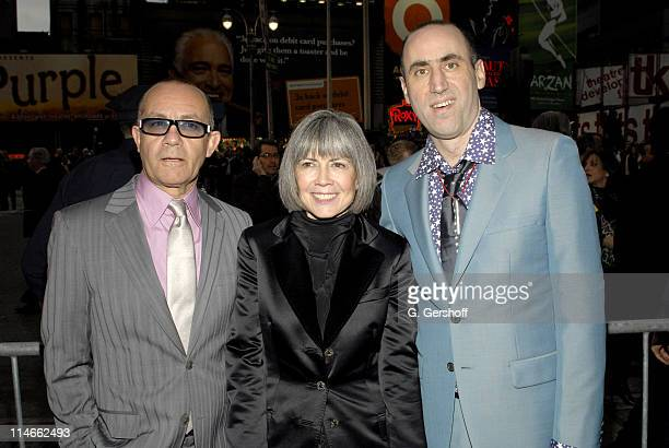 Bernie Taupin Anne Rice and Robert Jess Roth director