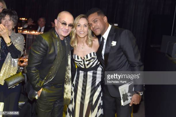 Bernie Topin Sheryl Crow and Maxwell attend the Elton John AIDS Foundation 25th Year And Honors Founder Sir Elton John During New York Fall Gala at...