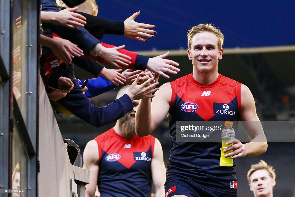 AFL Rd 20 - Melbourne v Gold Coast : News Photo