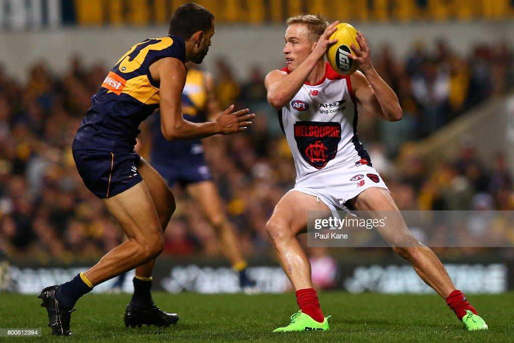 AFL Rd 14 - West Coast v Melbourne : News Photo