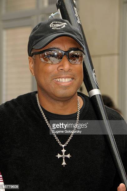 Bernie Williams attends the opening of the Hard Rock Cafe Yankee Stadium on April 2, 2009 in Bronx, New York.
