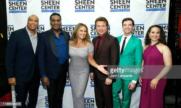 Bernie Williams Norm Lewis Vanessa Williams Frank Shiner Michael Urie and Shelley Thomas Harts attend Sheen Center presents Vanessa Williams Friends...